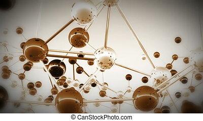 11, complexe, molécule, structure