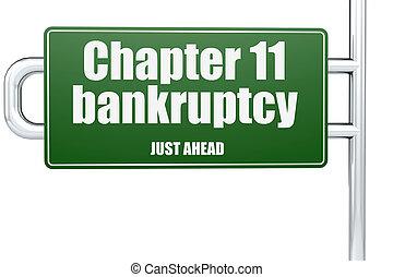 11, mot, chapitre, signe, route, faillite, vert
