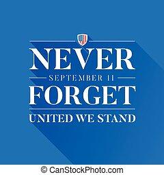 11, my, pojęcie, zapominać, nigdy, -, zjednoczony, stać, 9