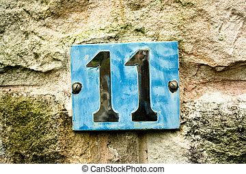 11, nombre