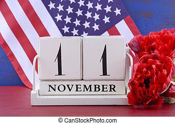 11, november, veteranentag, kalender