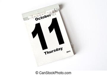 11., oktober, 2012