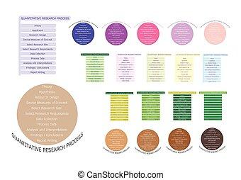 11, proceso, cualitativo, colección, investigación, paso