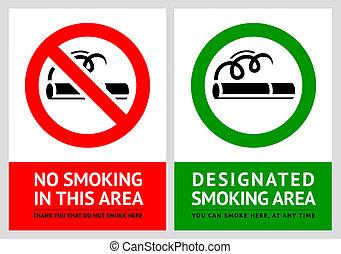 11, set, no, etichette, -, zona, fumo
