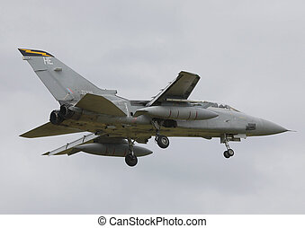 tornado f3 - 111sqd tornado f3 landing raf leuchars