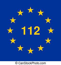 112 european emergency telephone number