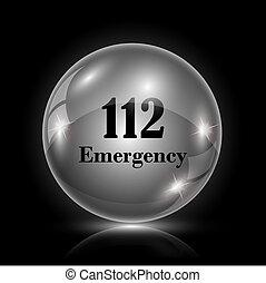 112, urgence, icône