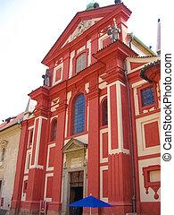 1185, チェコ, consecrated, originally, st. ジョージ, republic:, あった, バシリカ, プラハ
