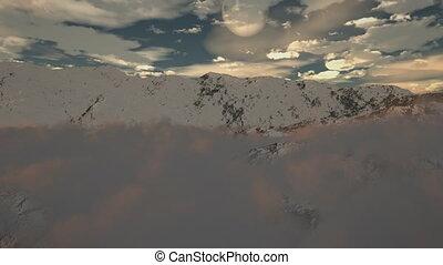 (1190), berg, wildern, sneeuw, winter