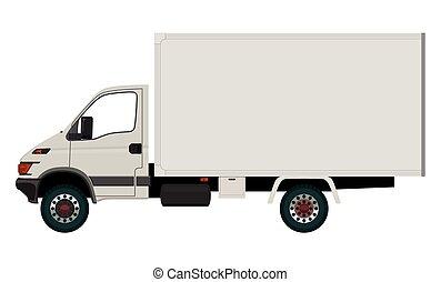 11.eps, luz, caminhão