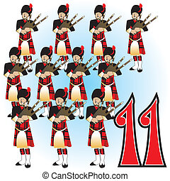 11th day of christmas - The 12 Days of Christmas,...