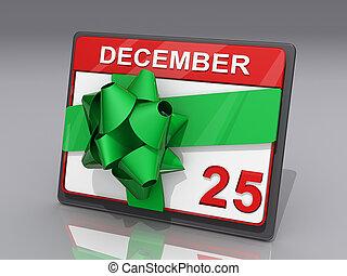 12月, クリスマス, 25