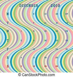 12月, -, 2010, ストライプ