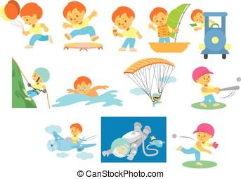 12 activities of boy