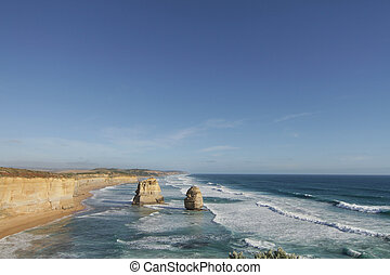 12 Apostles with copyspace