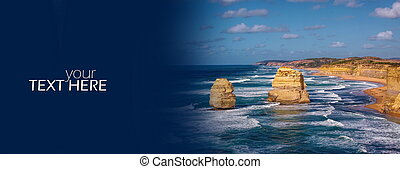 12 Apostles with the copy space