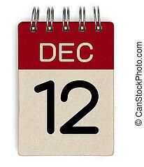 12 dec calendar