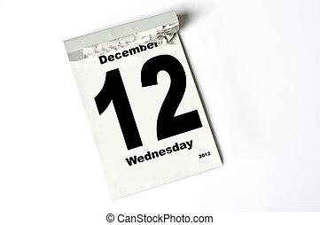 12. December 2012