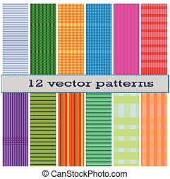 12 Fower vector pattern