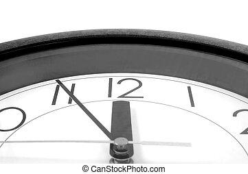 12, horloge