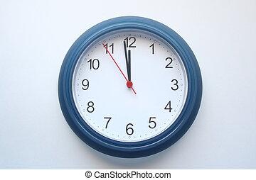 12, o, 時計