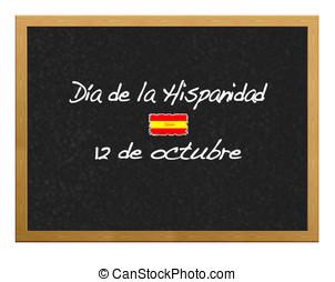 12  October. - Hispanic Heritage Day,