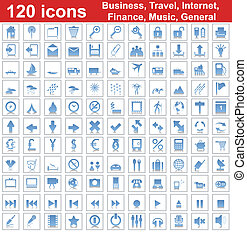 120 icons set - Biggest collection of 120 different icons...