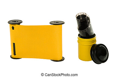 120 mm film with spool old film - 120mm film with spool and ...