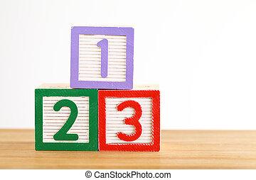 123 toy block