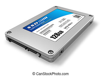 128GB solid state drive (SSD)