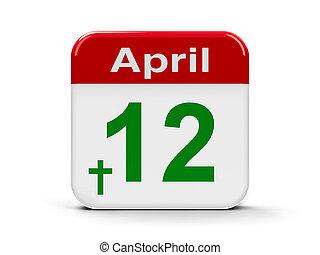 12e, Paques, croix, avril