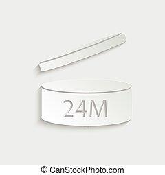 12m, icon., pao, 後で, シンボル, 期間, 開始