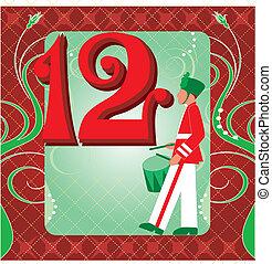 12th , ημέρα , xριστούγεννα