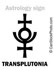 (12th, hypothetical, planet), transplutonia, astrology: