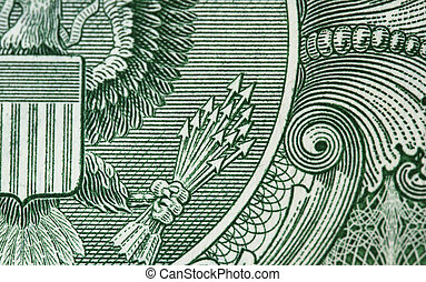 13 arrows of one dollar bill