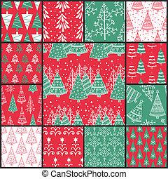 13 Christmas patterns