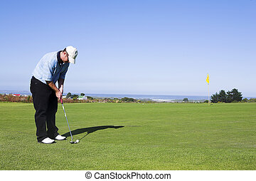 #13, golf