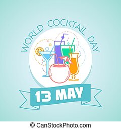13 may  World Cocktail Day