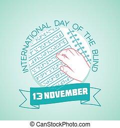 13 november International Day of the Blind - Calendar for...