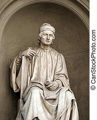 1300, sculptor., famosos, di, arnolfo, 1240, –, cambio,...
