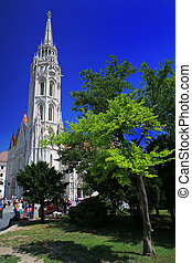 13.06.2015. Matthias Church, one of the famous attractions in Hungary.