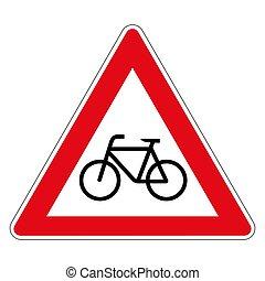 138, allemand, bicycles, panneaux signalisations