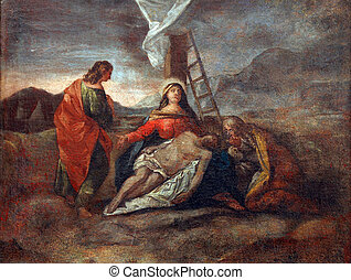 13th Stations of the Cross - 13th Station of the Cross,...