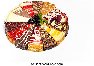 Sampler Cheesecake