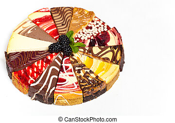 Gourmet Sampler Cheesecake