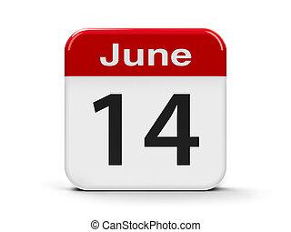 14e, juin