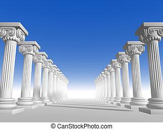 15, colonnes