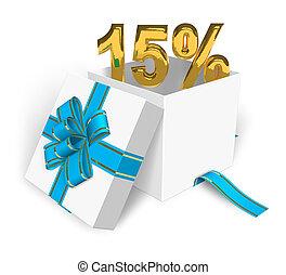 15% discount concept
