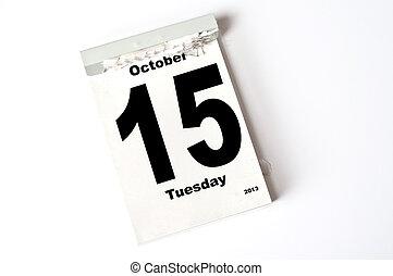15. October 2013
