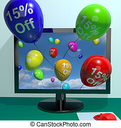 15% Off Balloons From Computer Shows Sale Discount Of Fifteen Percent Online